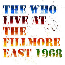 WHO THE LIVE AT THE FILLMORE 1968
